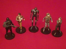 Disney Star Wars Mixed Lot PVC Statue Figures set of 5 figures - $10.03