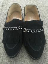 Women's Franco Sarto Black Suede Slip-on Loafer Shoes, Size - $29.99