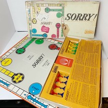 Parker Brothers SORRY! Slide Pursuit Game Vintage 1964 Classic Game Comp... - $28.84