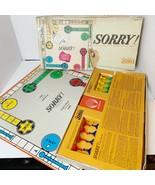 Parker Brothers SORRY! Slide Pursuit Game Vintage 1964 Classic Game Comp... - $28.84