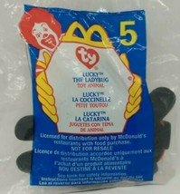 TY Teenie Beanie Baby Lucky the Ladybug McDonald's Happy Meal Toy Vintag... - $3.95