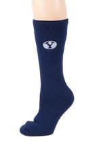 BYU Licensed  Blue Thermal Socks - $17.95