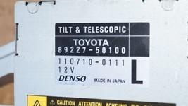 Lexus LS430 Tilt Telescopic Multiplex Steering Column Control Module 89227-50100 image 2