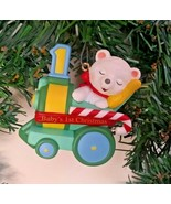 Hallmark Babys 1st 2nd Christmas Keepsake Ornaments Childs Age Collectio... - $12.69