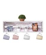 Del Hutson Designs - Rustic Coffee Bar Floating Shelf, USA Handmade Recl... - $51.26