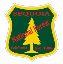 Sequoia National Forest Sticker R3306 California YOU CHOOSE SIZE - $1.45+