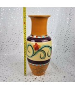 """Beau Rivage Casino Unique 13"""" Vase Hand Painted by Renowned Artist Gail ... - $261.41"""