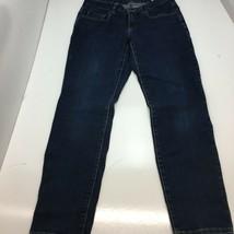 Michael Kors Women's Straight Leg Jeans Color: Blue Size: 6 - $29.69