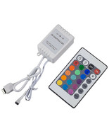 24 Key 16 Color Ir Remote Control Controller For 3528 5050 SMD RGB LED S... - $8.95