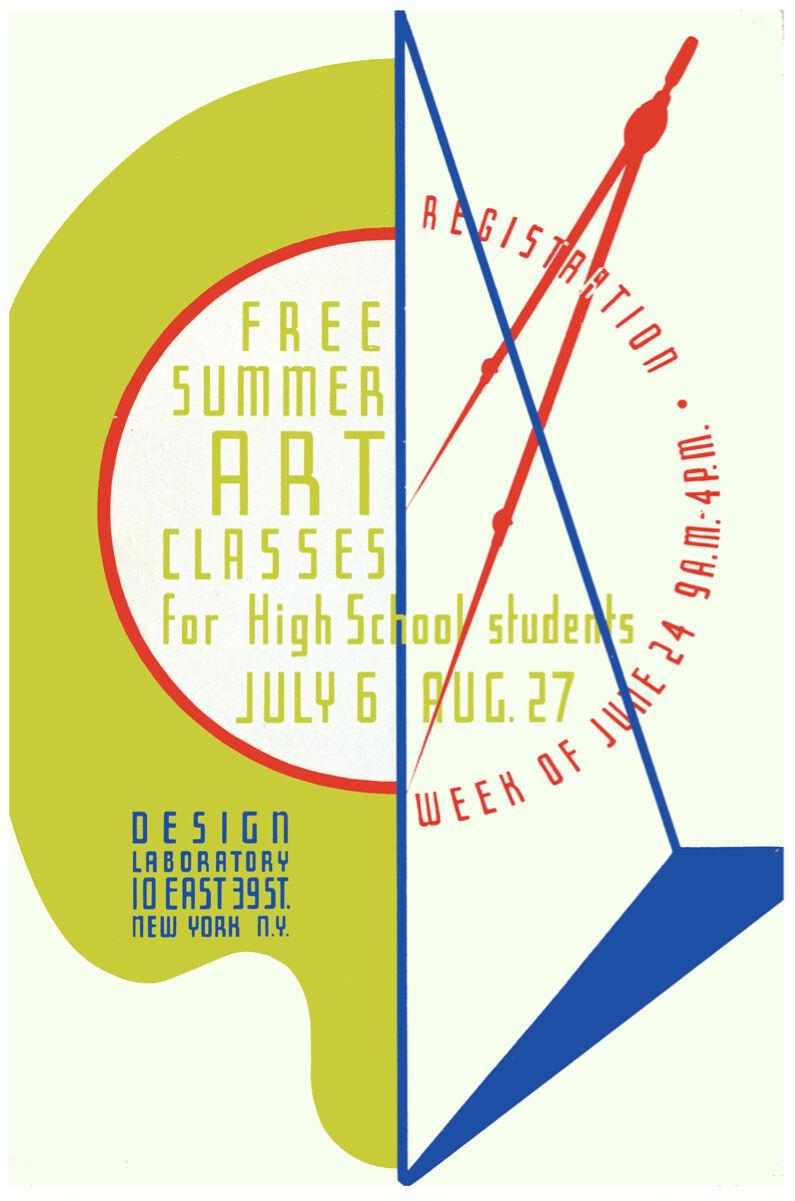 Art POSTER.Home wall New York Design School.Room Decorative.310i - $10.89 - $74.25