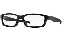 Oakley Gafas Reticulación Negro Satinado / W/ Claro Demo Lentes OX8027-0... - $166.65