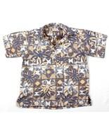 Vintage Go Barefoot Chemise Hawaïenne T.L pour Homme Impression Envers - $46.07