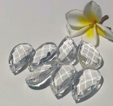 100/200Pcs 38mm Acrylic Crystal Prism Water Drop Pendant Chandelier Curtain Part - $12.46+