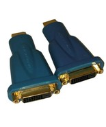 2 Monster Cable ULTRA HDMI-to-DVI Adapter Female Male Gold Connector *no... - $5.89