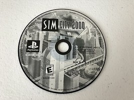 SimCity 2000 - Playstation 1 PS1 - Cleaned & Tested - $6.31