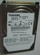 "New MK1234GAX Toshiba HDD2D16 120GB 2.5"" IDE Drive Free USA Shipping"