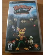 Sony PSP Ratchet & Clank Size Matters Case Manual NO Game   - $9.00