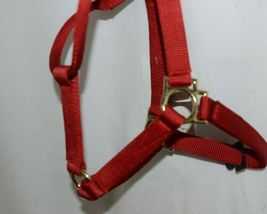 Valhoma 811QRD Red Value Halter Medium Eight to Eleven Hundred Pounds image 3