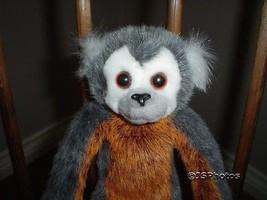 Russ Berrie Gaspard Monkey Plush 21073 Handmade 11 Inch - $67.54
