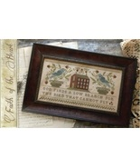 Faith Of The Heart cross stitch chart With Thy Needle Brenda Gervais  - $10.80