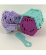 Little Live Scruff a Luvs Babies Rescue Pet Purple Koala Bear with Kennel 2018 - $12.82
