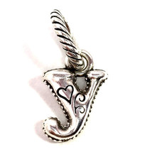 Authentic Brighton ABC Letter Y Charm, J9062Y Silver Finish,  New - $8.08