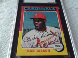 1975 Topps # 150 Bob Gibson Sgc 84 Cardinals Baseball !! - $54.99