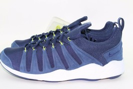 NIKE LAB AIR ZOOM SPIRIMIC MEN SIZE 7.0 MIDNIGHT NAVY NEW RARE LIGHT AUT... - $124.73