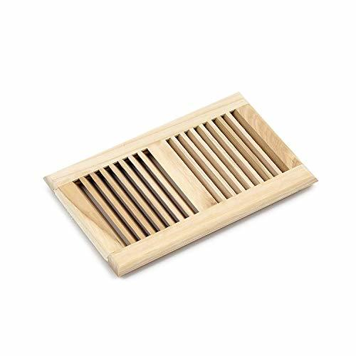 WELLAND 6 X 10 inch Hickory Vents,Wood Drop in Vents Self ...