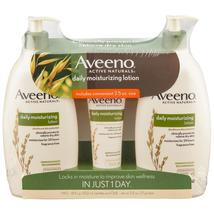 Aveeno Daily Moisturizing Lotion (18 fl. oz., 2 pk. with 2.5 oz. Tube) - $20.25
