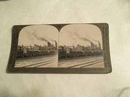 Steel Furnace Alabama AL iron center Birmingham Stereoview Card - $14.99