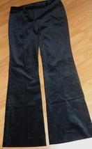 *Drew Fit Women's Pants Size 4 - 6 Black Velour Stretch Nwt - $17.98