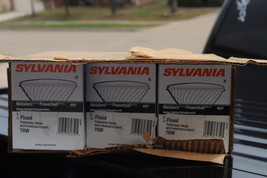 Lot 6 Sylvania 64750-MCP70PAR38/U/FL/830/ECO 70 watt Metal Halide Bulb New - $169.00