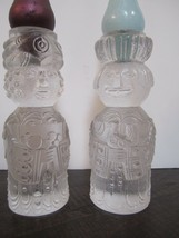 """Rosenthal Bjorn 2 wise men 5 1/4"""" Candle Holder Norway set of two  - $64.30"""