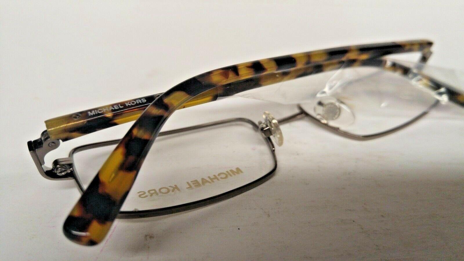 Michael Kors Rx Eyeglass Frames MK310M 033 51-18 Tortoise Gunmetal