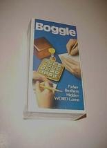 Vintage Parker Brothers Boggle Hidden Word Game 1976 Version New NIB - $79.19