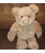"Gund Limited Ed 16"" Collectors classics plush tan floppy teddy bear hear... - $9.89"
