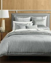 Hotel Collection Muse Full/Queen Grey Duvet Cover T410967 - $104.39