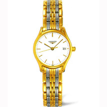 Longines Women's L4.259.2.12.7 Lyre Two-Tone Stainless Steel Watch - $828.32