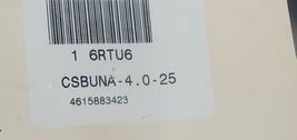 NEW E. JAMES 6RTU6 RUBBER CORD CSBUNA-4.0-25 4.0mm Dia,25 Ft image 2