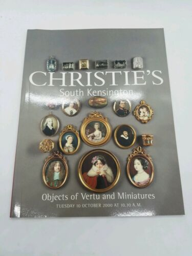 Primary image for Christie's Objects of Vertu and Miniatures South Kensington 10/10/2000
