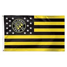 WinCraft Soccer Columbus Crew SC 11182115 Deluxe Flag, 3' x 5' - $33.32