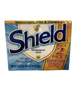 Shield Deoderant Bar Soap White Fresh Scent 2-pack Discontinued (2) - 4 ... - $12.86