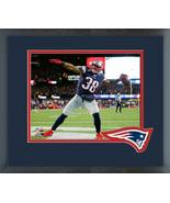 Brandon Bolden TD 2017 AFC Divisional Playoff Game-11x14 Matted/Framed P... - $43.55