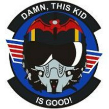 US Army Damn, This Kid Is Good Patch Sticker - $9.89