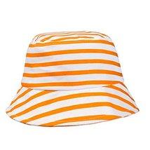 Sun-Resistant Stripe Cotton Fisherman Baby Cap Infant Hat image 2