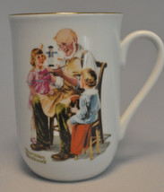 """1982 Norman Rockwell Museum Collectible Mug Cup """" The Toymaker """" - Mint - $6.97"""