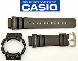Genuine Casio G-SHOCK GW-9100   Gulfman Watch Band & Bezel Black Rubber ... - $60.95