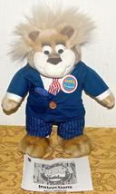 "1999 Bubba for President Wisecrackin Talking Plush Bear Toy 13"" Talks Trump - $23.32"