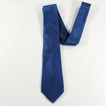 Lauren Ralph Lauren Neck tie - Blue, navy blue checkered - Silk 57L 3W - $19.80